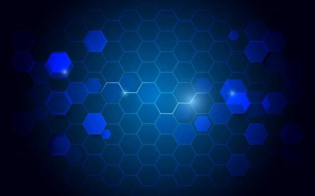 Digitaler high-techer konzepthintergrund der abstrakten technologie