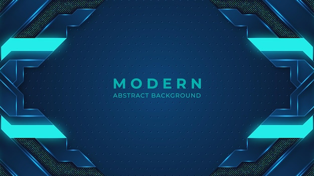 Digitaler hintergrund der blauen abstrakten modernen hintergrundbeleuchtung