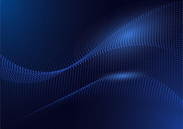Digitaler hintergrund der futuristischen schaltung der technologie