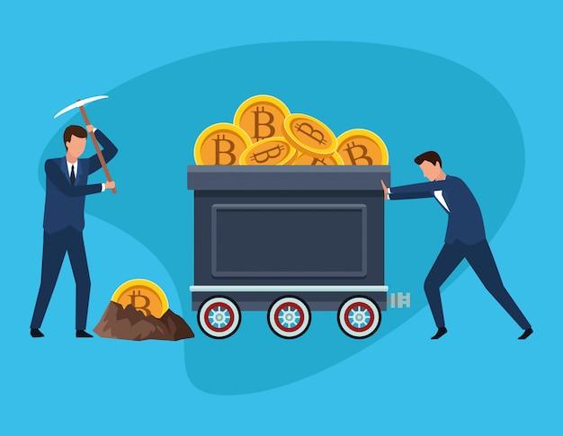 Digitales bergbau-bitcoin