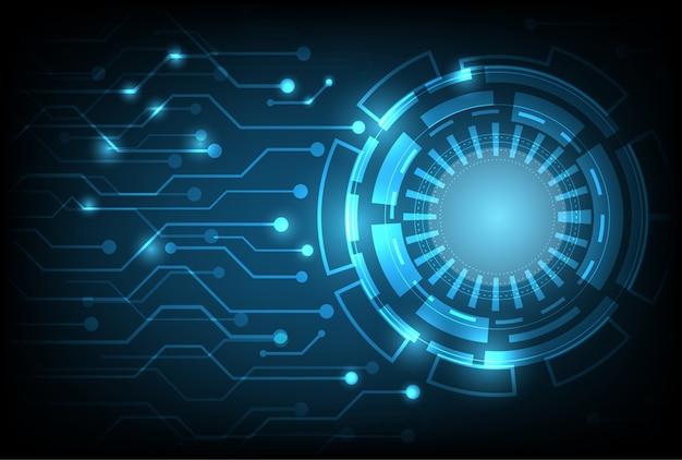 Digitales geschäft der technologie unter verwendung als hintergrund