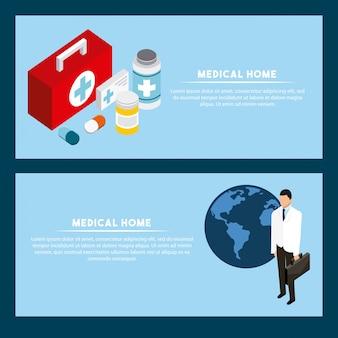 Digitales gesundheitskonzept