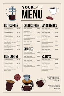 Digitales kaffee restaurant restaurant design