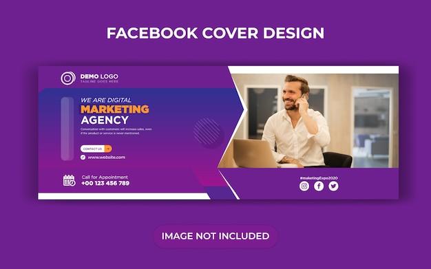 Digitales marketing social media post und web banner oder flyer design