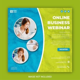 Digitales marketing und corporate social media post-design