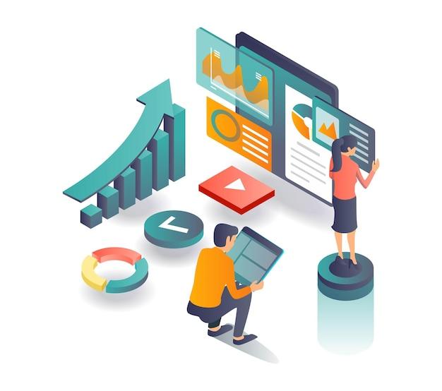 Digitales marketing und seo-optimierungsstrategie für blogs