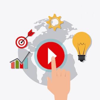 Digitales und soziales marketing