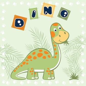 Dino-cartoon