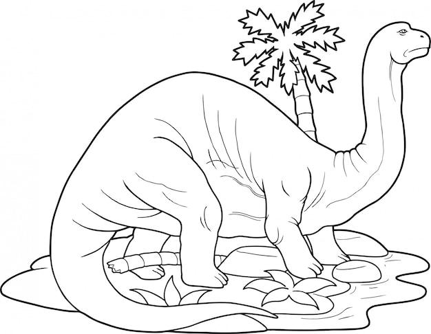 Dinosaurier apatosaurus