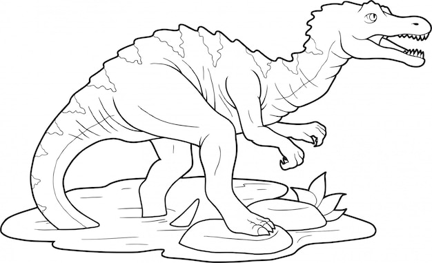 Dinosaurier baryonyx