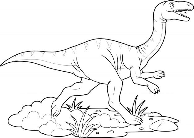 Dinosaurier gallimimus