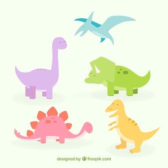 Dinosaurier-sammlung