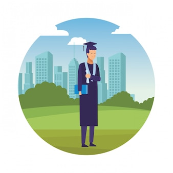 Diplom abschlussfeier