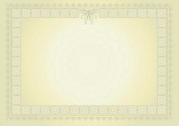 Diplom mit zitrone farbverlauf