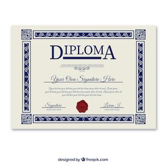 Diplom-vorlage