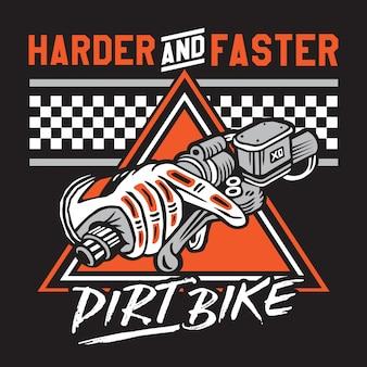 Dirt bike harde & faster