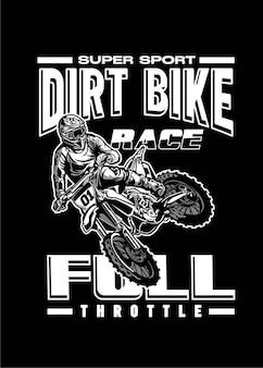 Dirtbike-rennen