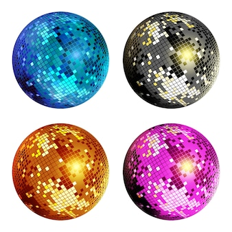 Disco-ball-set