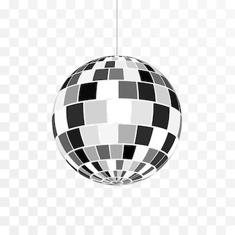 Disco ball symbol illustration