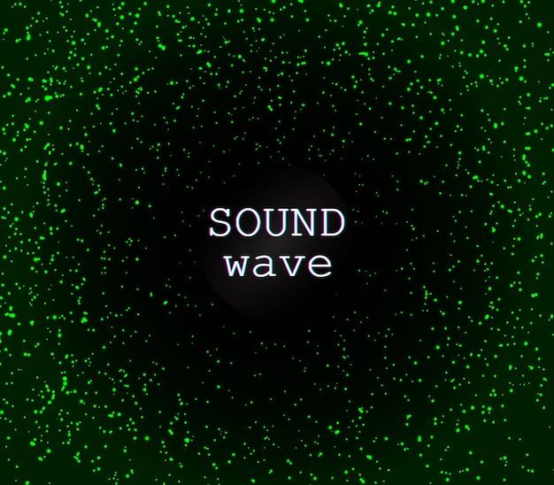 Disco hintergrund. grüne magische lichter. glühendes funkeln. grüne abstrakte partikel. lichteffekt. fallende sterne. glitzernde partikel. urlaub schimmernde lichter.
