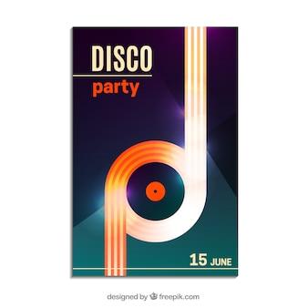 Disco-party-plakat