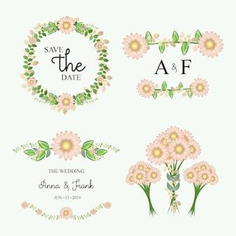 Diseño blumen de boda