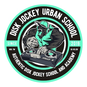 Disk jockey urban school