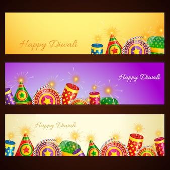 Diwali-banner gesetzt