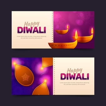 Diwali banner konzept