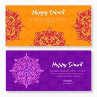 Diwali banner packen
