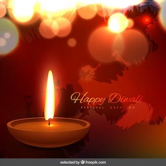 Diwali bokeh gruß