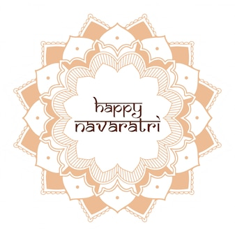 Diwali festival grußkarte mit mandala