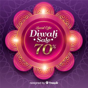 Diwali festival sonderangebot banner