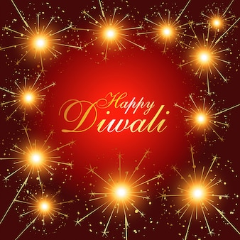 Diwali feuerwerk hintergrund