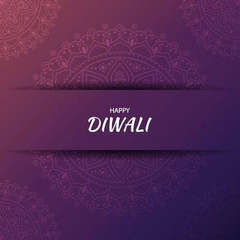 Diwali hindu festival grußkarte