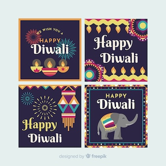Diwali instagram post sammlung