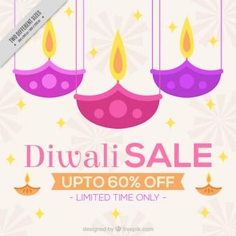Diwali sonderverkäufe hintergrund
