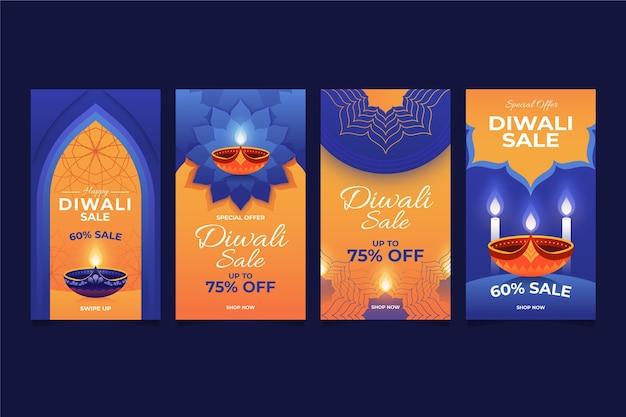 Diwali verkauf instagram geschichten