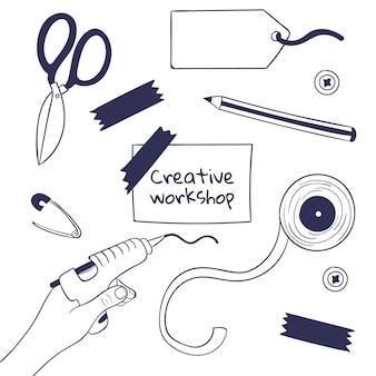 Diy kreative werkstatt
