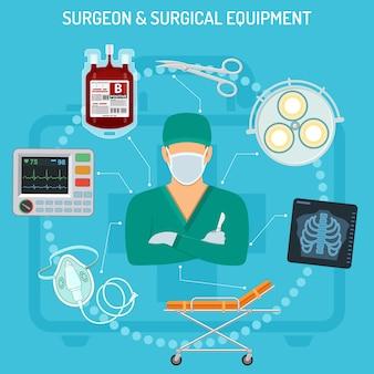 Doktor chirurg konzept