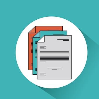 Dokument-datei-papier-text