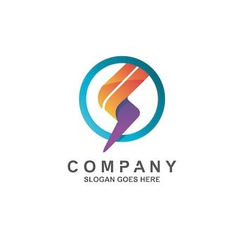 Donner-logo-design-vektor