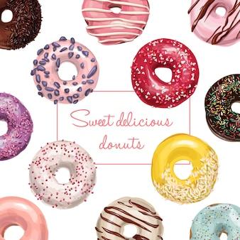 Donut-muster
