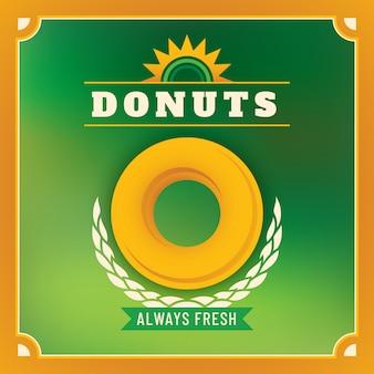 Donuts-aufkleber