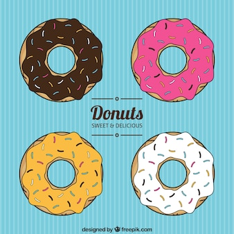 Donuts sammlung