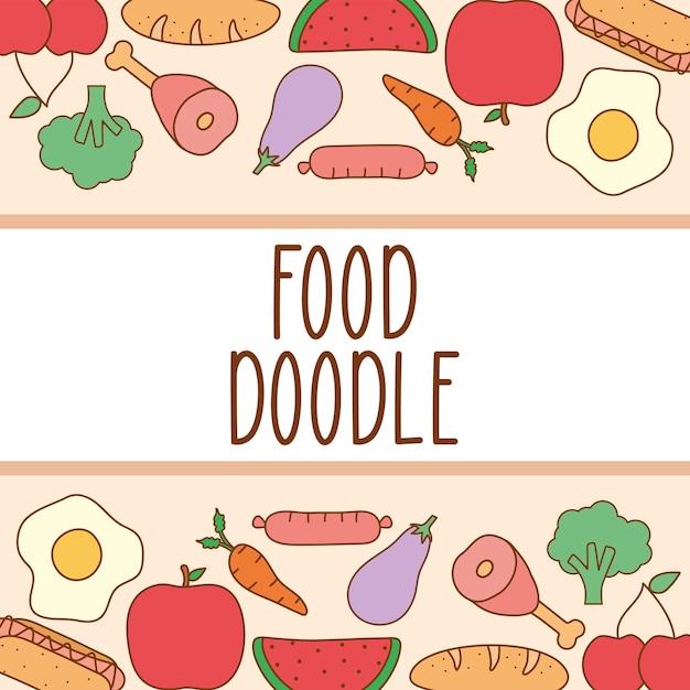 Doodle-food-banner