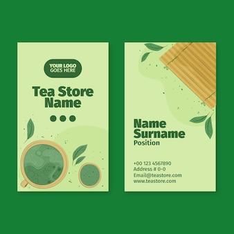 Doppelseitige visitenkarte