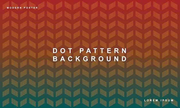 Dot pattern background gradient textile color