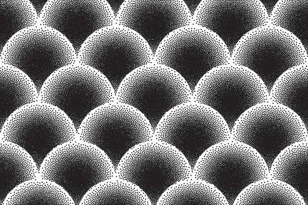 Dotwork-vektor-abstrakter hintergrund
