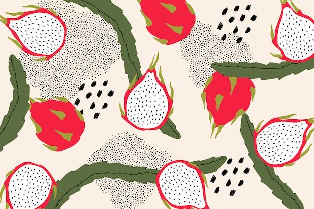 Drachenfrucht muster